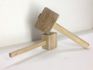 Mazzuoli in legno