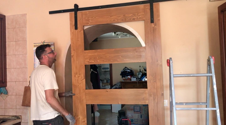 Arco Per Porta come costruire una porta scorrevole fai da te | makers at work