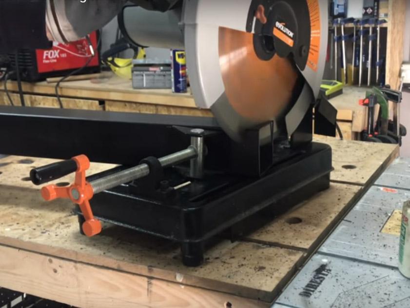 Taglio del ferro
