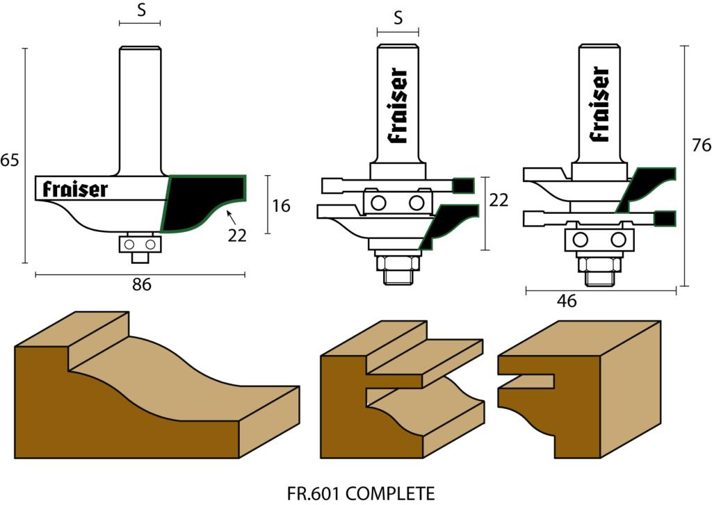 Kit frese per antine recensione makers at work for Fresa per cerniere ante