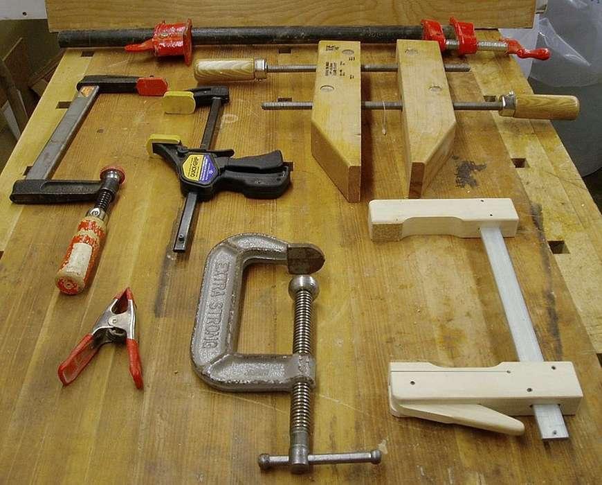 morsetti per il legno
