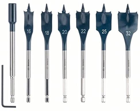 Bosch Professional Set 7 Punte Fresatrici