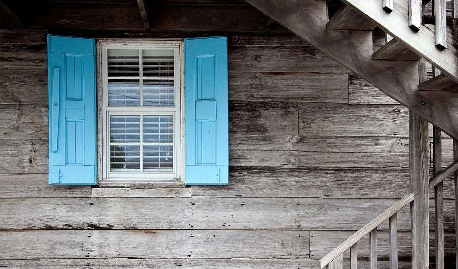 muffa sul legno delle finestre